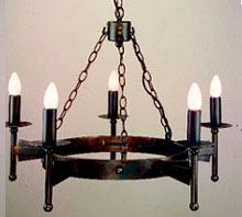 wrought iron candle chandelier - ShopWiki